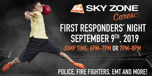 Sky Zone Cares First Responders' Night Fishers, IN