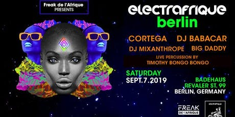 ElectrAfrique Tickets