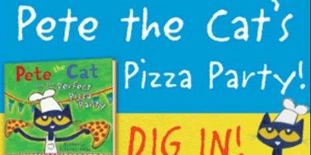Pete The Cat Pizza Party and Book reading