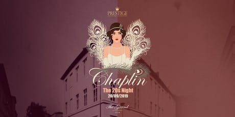 Chaplin - The 20s Night  Tickets