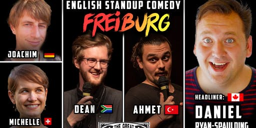 English Standup Comedy Night Freiburg !
