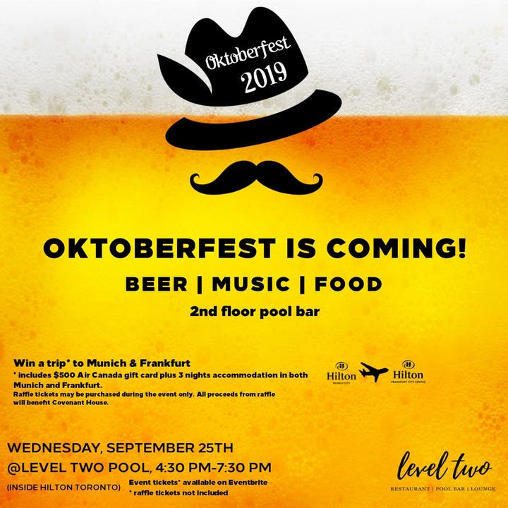 Enjoy OktoBEERfest on Toronto's best outdoor patio! Tickets