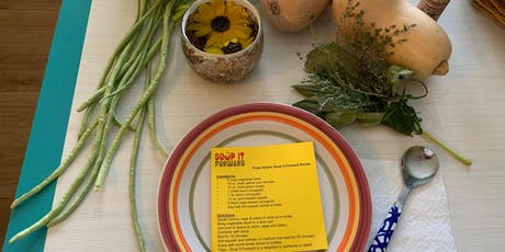 Earth to Table - Soup It Forward Cooking Class tickets