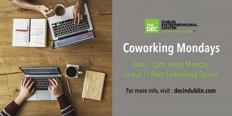 Dublin Coworking Mondays tickets