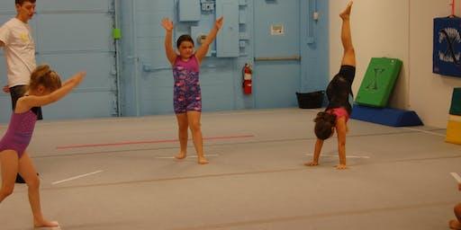 Free Beginner Gymnastics Class!