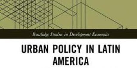 Urban Policy in Latin America: Towards the SDGs? - Book launch tickets
