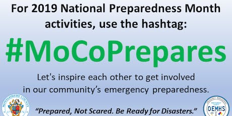 #MoCoPrepares: When Disaster Strikes – A guide to preparing businesses tickets