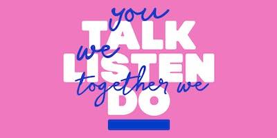 CCHA's You Talk, We Listen, Together We Act- Trowbridge Information Session