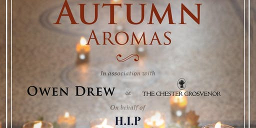 HIP In Cheshire Autumn Aromas Afternoon Tea - £40 including Afternoon Tea, Refreshments and an Owen Drew Gift Bag