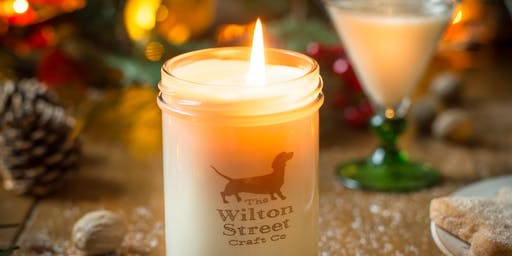 Festive Candle Making Workshop with The Wilton Street Craft Co Seasonal Special