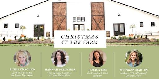 Christmas at the Farm: An EDGE Women's Event
