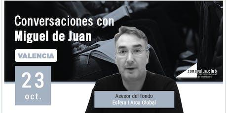 Conversaciones de Inversión con Miguel de Juan - Esfera I Arca Global  entradas