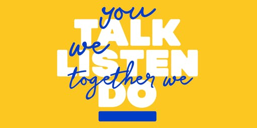 CCHA's You Talk, We Listen, Together We Act- Splott Information Session
