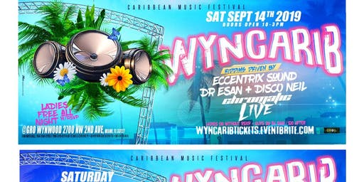 WYNCARIB FEATURING CHROMATIC LIVE | GRO WYNWOOD | #1 CARIBBEAN EVENT