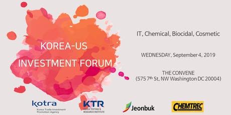 Korea-U.S. Investment Forum tickets