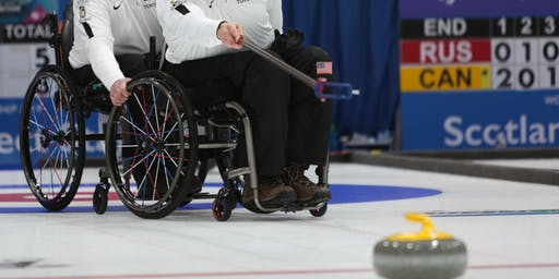 Potomac Curling Club hosts Wheelchair Curling Clinic