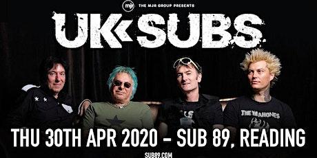 U.K. Subs (Sub89, Reading)