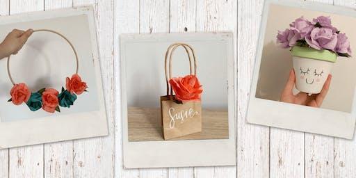 Paper Roses Workshop