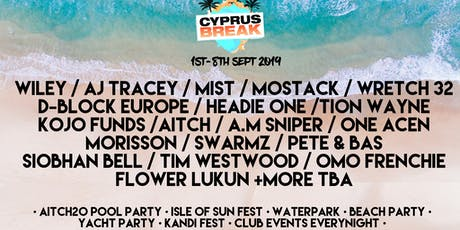 Cyprus Break September 1st-8th 2019 tickets