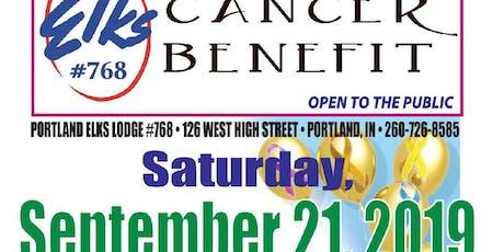 Elks # 768 Annual Cancer Benefit tickets