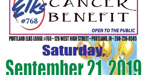 Elks # 768 Annual Cancer Benefit