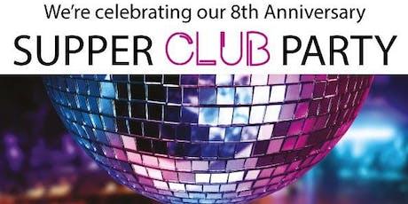 8TH BIRTHDAY SUPPER CLUB PARTY @ THE BRIGADE BAR + KITCHEN tickets