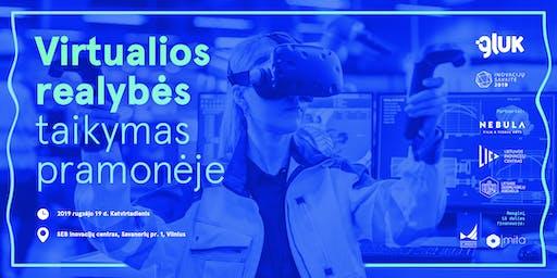 Virtualios realybės taikymas pramonėje