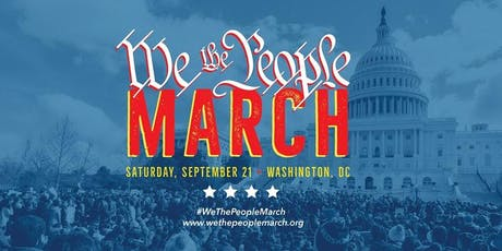 we the people march bus starts from Indian Orchard MA. to Washington DC tickets