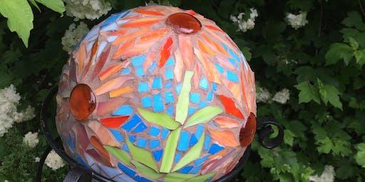 Create a Mosaic Gazing Ball Class