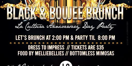 BLACK & BOUJEE BRUNCH / DAY PARTY