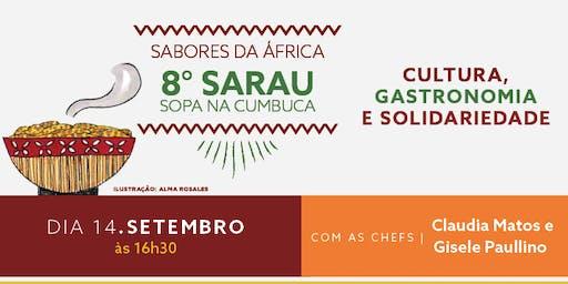 8º Sarau Sopa na Cumbuca - Sabores da África