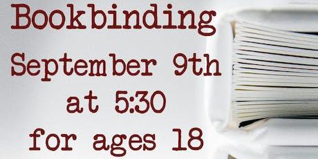 Adult Art: Bookbinding tickets