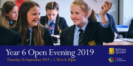National Church of England Academy - Open Evening 2019 tickets