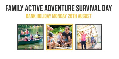 Family Active Adventure Survival Day