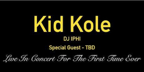 KID KOLE - LIVE tickets
