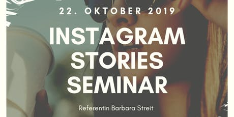 Instagram Stories Seminar Tickets
