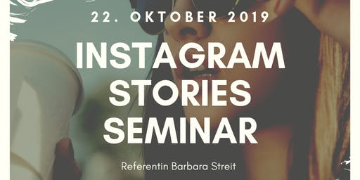 Instagram Stories Seminar