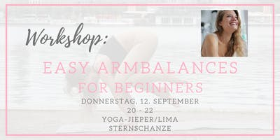 YOGA WORKSHOP: Easy Armbalances for Beginners