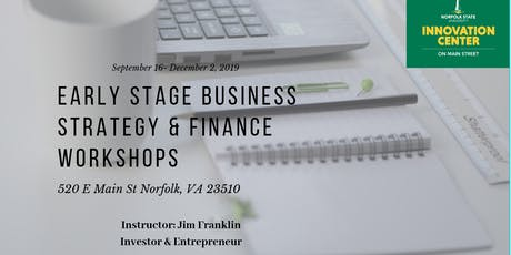 Early Stage Business Strategy & Finance Workshops  tickets