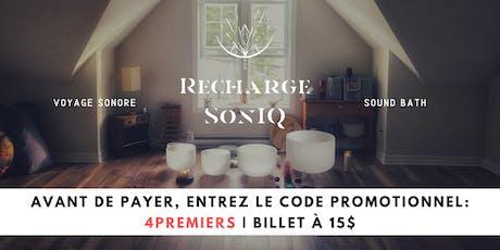 09.06 • Recharge SonIQ | Concert méditatif | Sainte-Adèle tickets