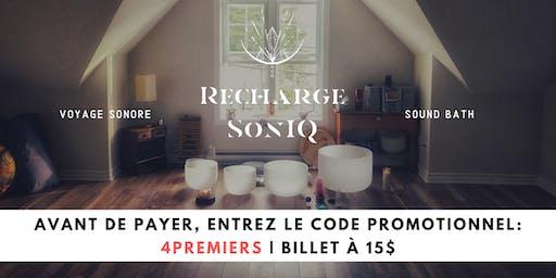 09.06 • Recharge SonIQ | Concert méditatif | Sainte-Adèle
