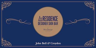 InRESIDENCE DESIGNER SKIN BAR by Skin Design London