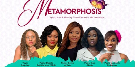 Women's Prayer Conference - METAMORPHOSIS 2019 tickets