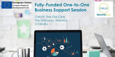 One to One Business Support Session (Warwick)