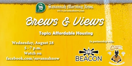 Brews & Views (August 2019) - Affordable Housing tickets
