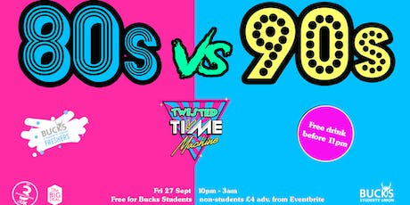 Twisted Time Machine presents: Lycra 80s vs 90s Aerobics Party tickets