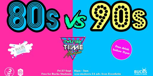 Twisted Time Machine presents: Lycra 80s vs 90s Aerobics Party