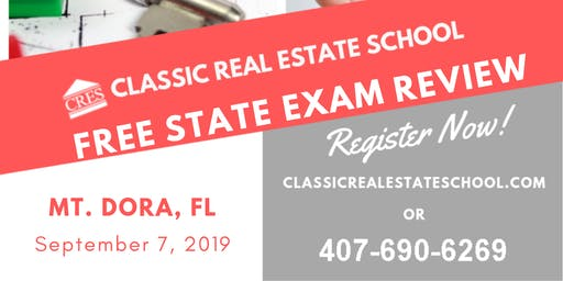 Free FL 63hrs State Exam Review