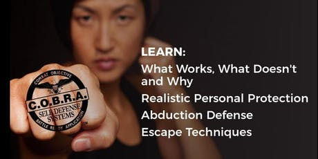 Complimentary Self-Defense Workshop - Session 2 tickets