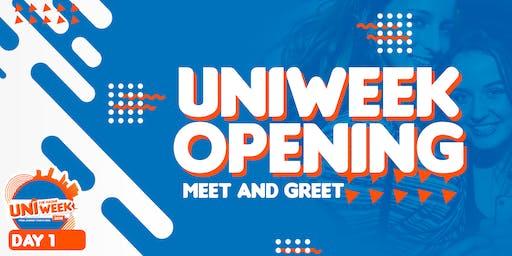 UNIweek Day 1: UNIweek Opening - Meet and Greet